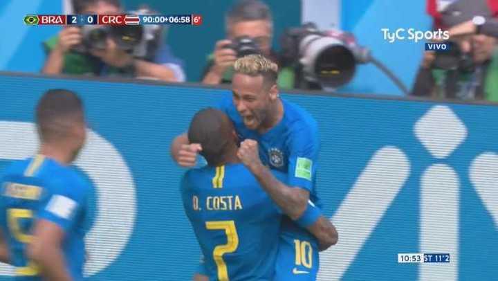 Brasil lo liquidó sobre el final