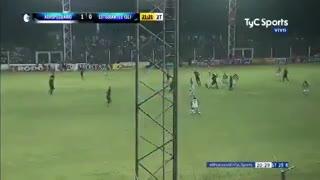 El 1-0 de Agropecuario a Estudiantes (SL)