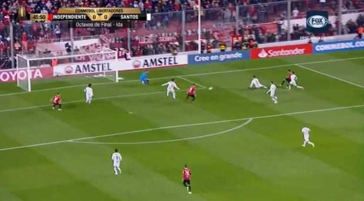 Independiente llegó con peligro