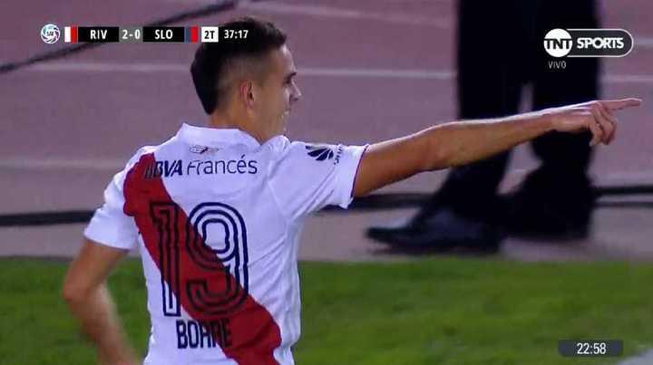Borré marcó el 2 a 0