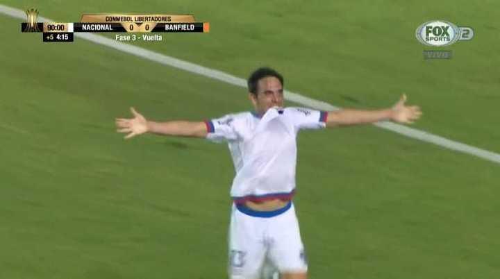 Nacional marcó el 1 a 0
