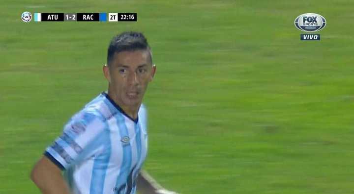 Acosta descontó para Atlético Tucumán