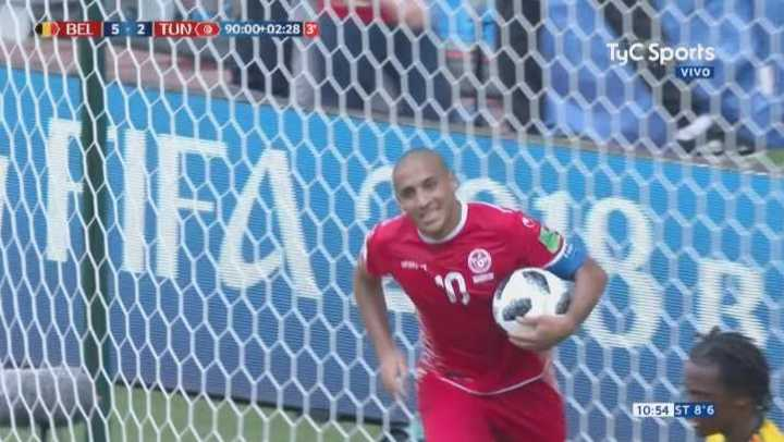 Wahbi Khazri descontó sobre el final