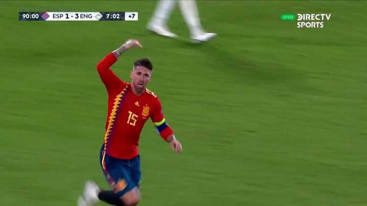 Sergio Ramos metió uno más sobre la hora