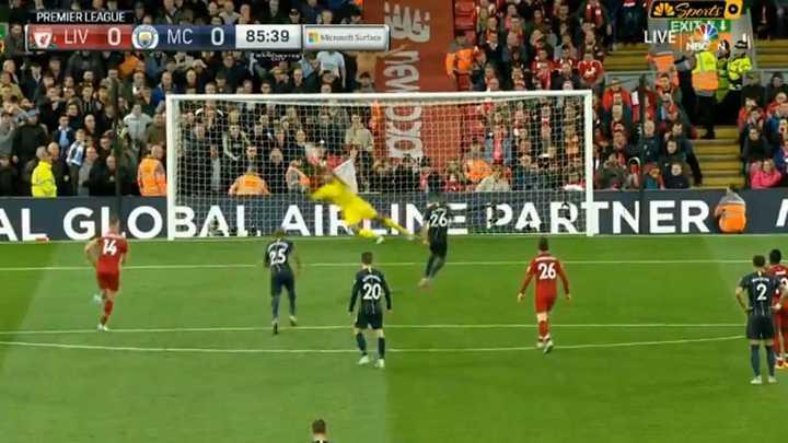 Mahrez erró un penal para el City