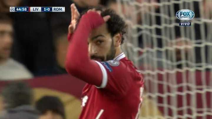 Salah metió otro golazo