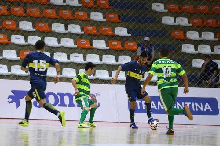 Boca le ganó 3-0 a Cre de Bolivia por la Libertadores de futsal
