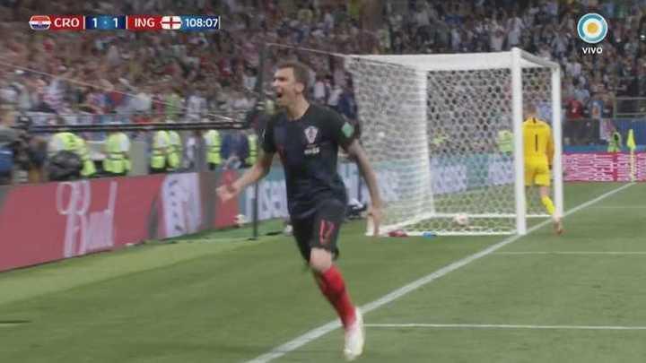 ¡Croacia marcó el 2 a 1!