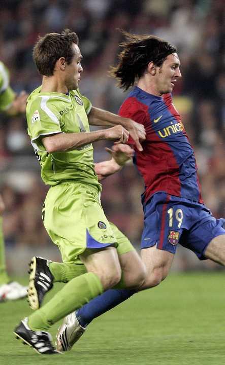 Golazo de Messi al Getafe