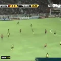 El último debut como local del Rojo en la Libertadores