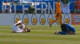 Ibrahimovic, expulsado en la MLS