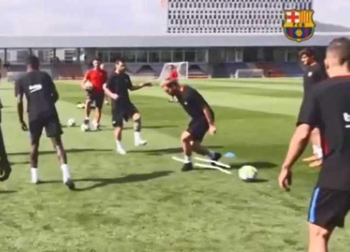 Barcelona palpitó la previa del choque entre Messi y Rakitic