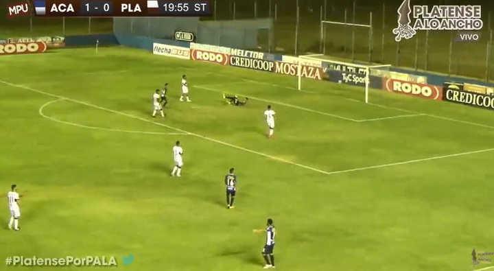 Los tres goles de Acassuso a Platense