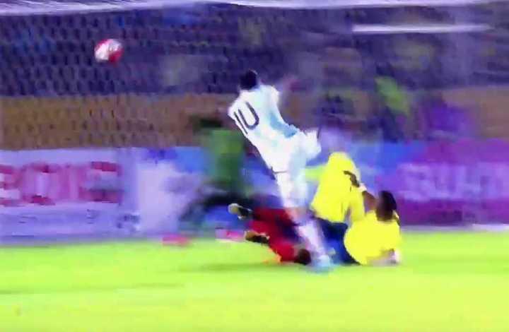 La Copa América se lanzó con Messi