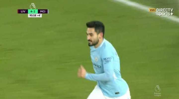 Gundogan pone al City a un gol de Liverpool