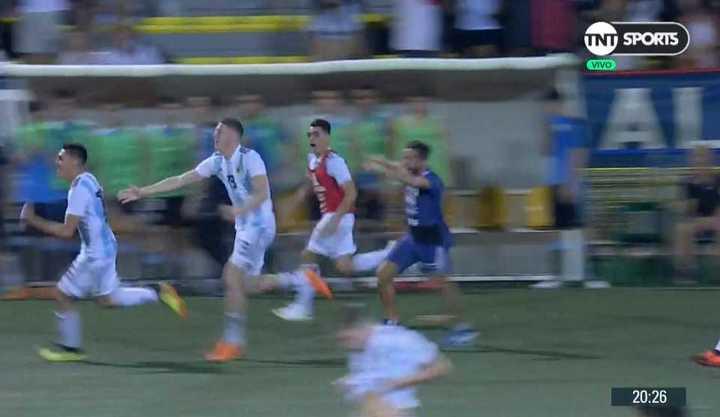 Argentina lo ganó en los penales
