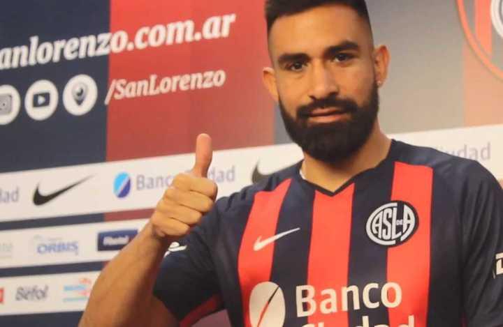 Ariel Rojas habló como jugador de San Lorenzo