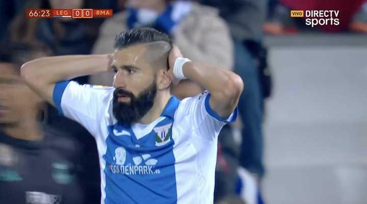 El Madrid se salvó de un gol en contra