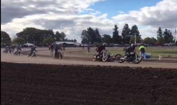 Trágico accidente en el motociclismo argentino