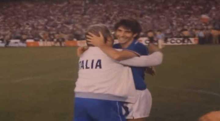 Paolo Rossi, goleador de España 1982.