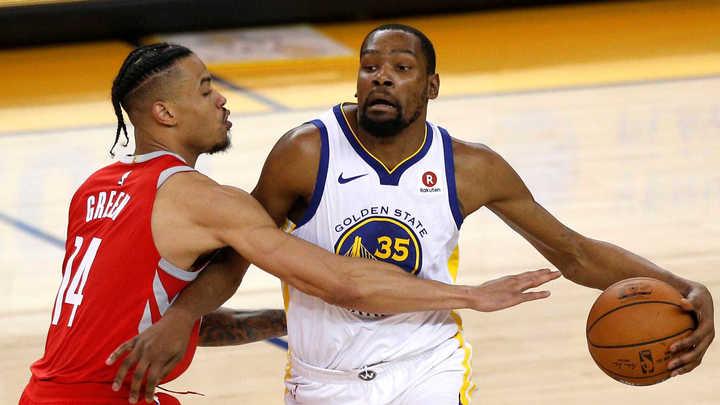 Durant, una garantía para los Warriors