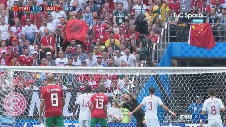 Rui Patricio seguro evitó una de Marruecos