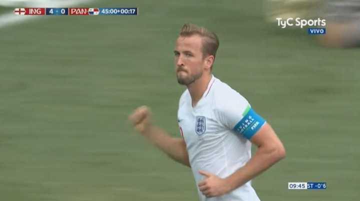 Quinto gol de Inglaterra ¿para qué seguir?