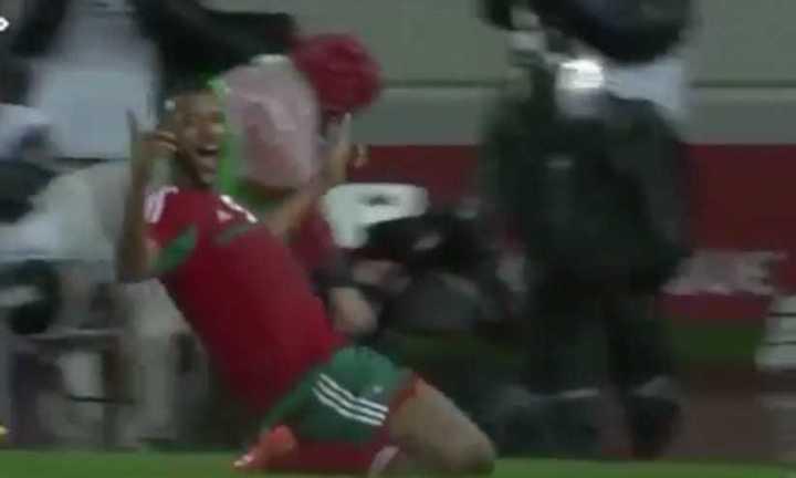El 4 a 0 de Marruecos a Nigeria
