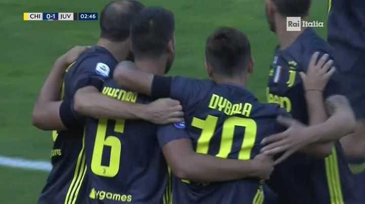 Khedira marcó el 1 a 0 para la Juve
