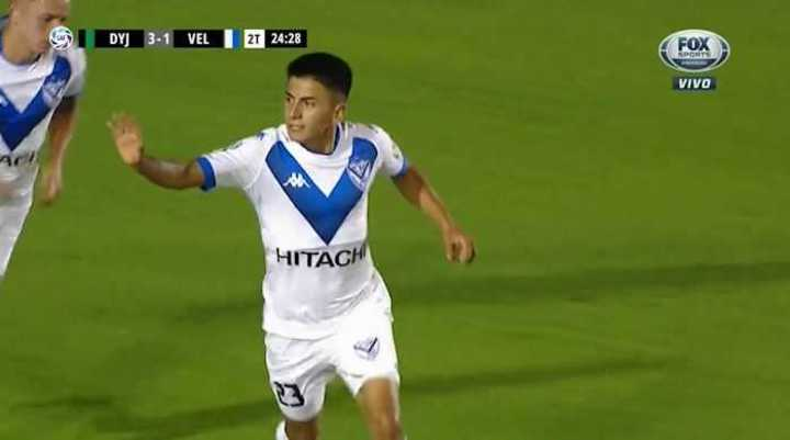 Almada descontó para Vélez