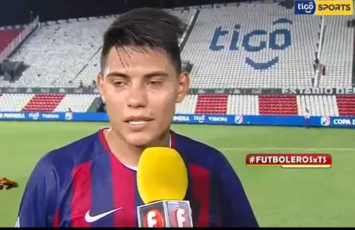 Santiago Arzamendia prefiere Paraguay