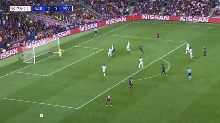 El segundo de Messi