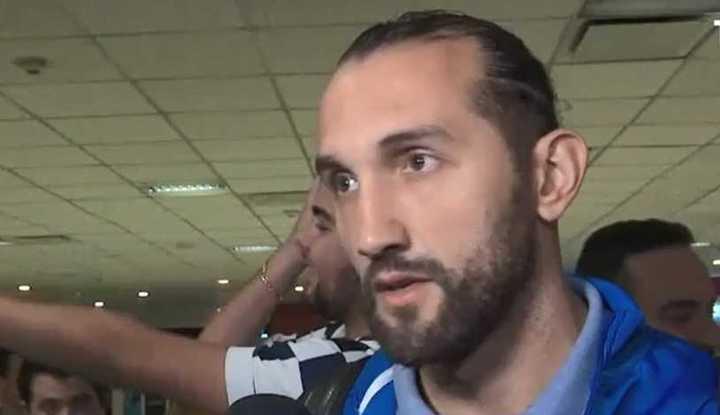 Hernán Barcos habló sobre Boca.