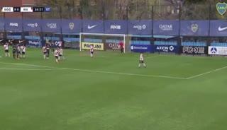 El gol de Heredia para Boca
