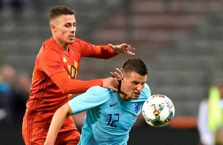 El 1 a 1 de Bélgica-Holanda