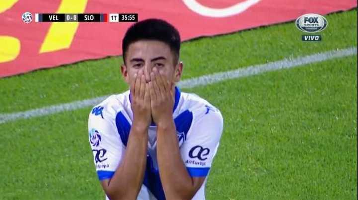 Almada tuvo el primero de Vélez