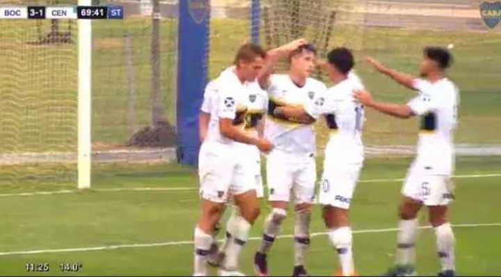 Los goles de Boca 5 - Central 2