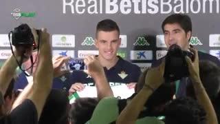 Lo Celso fue presentado en Betis