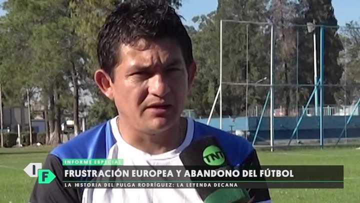 El día que el Pulga Rodríguez no quiso jugar más