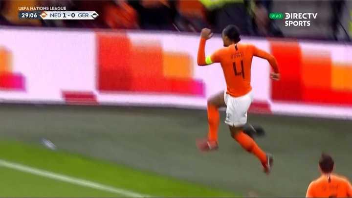 Arrancó con todo Holanda