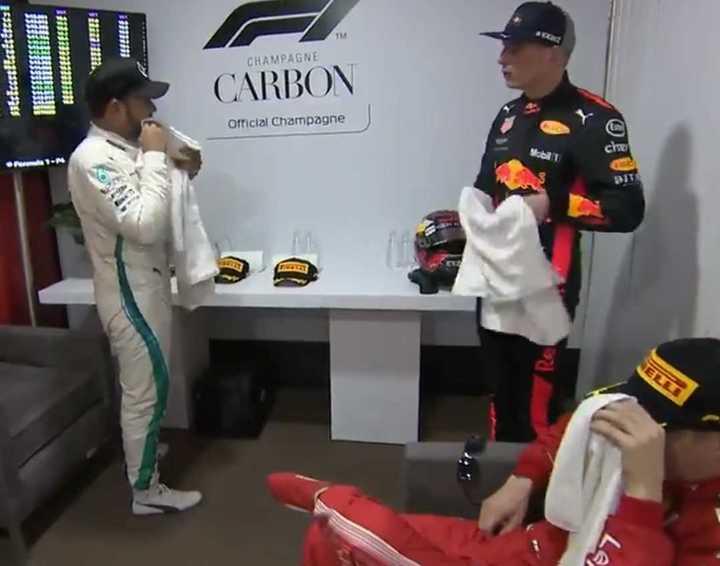 El consejo de Hamilton a Verstappen