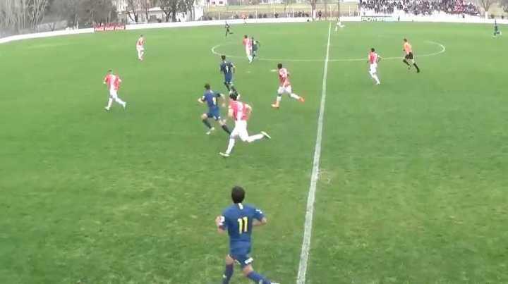 Gol de  Mauro Luna Diale