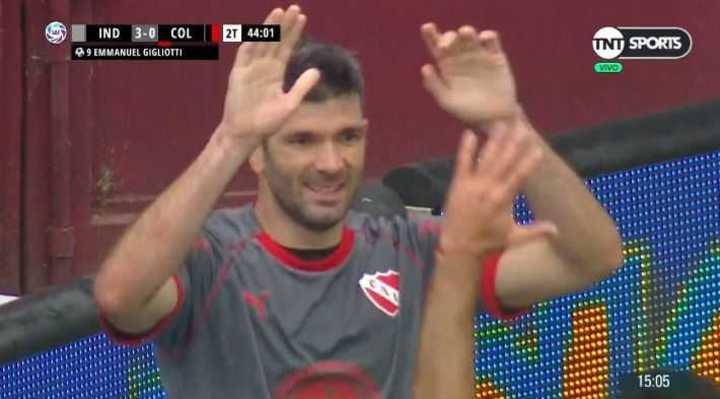 Doblete del Puma y 3 a 0 para el Rojo