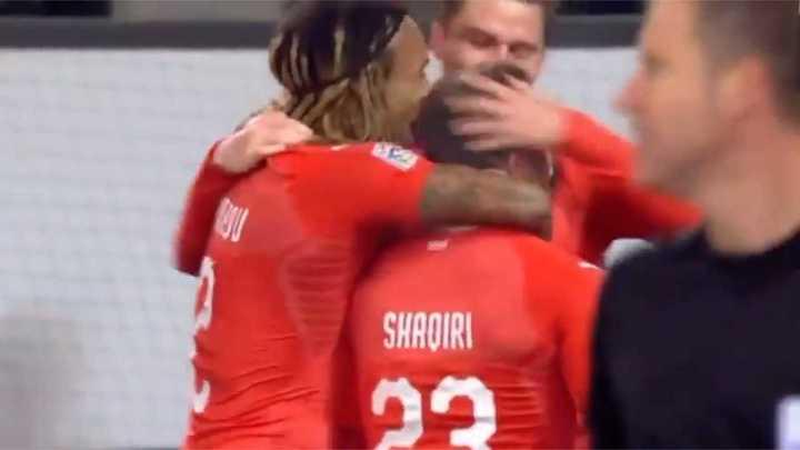 Suiza 5 - Bélgica 2
