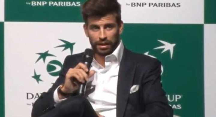 Piqué habló de Nadal, Djokovic y Federer