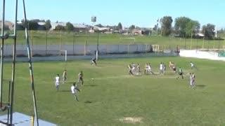 El 1-0 de Argentino de Rosario a Puerto Nuevo