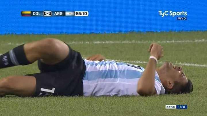 Tremendo golpe de Ospina a Simeone