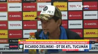 El Pulga Rodríguez habló tras el partido