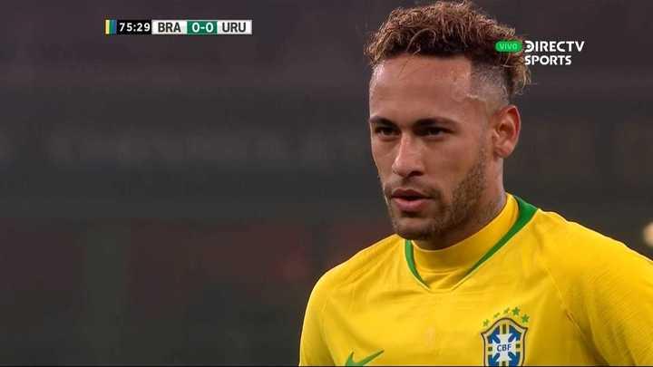 Brasil supera a Uruguay con gol de Neymar