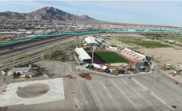 Estados Unidos, a pasito del estadio donde juega FC Juárez